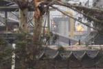 Taranto, tromba d'aria all'Ilva: danni e feriti