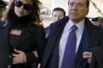 Roma, Berlusconi e Francesca viaggiano in treno verso Milano