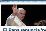 Benedetto XVI si dimette, la notizia fa il giro del mondo