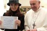 Papa Francesco e l'incontro con la presidente argentina