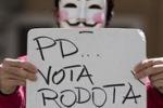 Corsa al Colle, a Roma gente in piazza per sostenere Rodotà