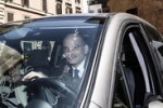 Enrico Letta, l'arrivo al Quirinale con la sua utilitaria