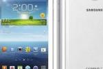 Ecco il nuovo Galaxy Tablet 3 mini: si puo' anche telefonare