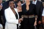Kyenge, dopo gli insulti l'abbraccio con la Boldrini