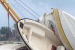 Violenta tromba d'aria a Santa Severa: barche spazzate via