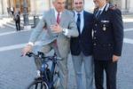 Roma, vigili in sella a bici elettriche siciliane