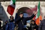 Forconi, in tremila sbarcano a Roma: tutte le immagini