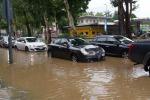 Agrigento, piove a San Leone: disagi e allagamenti