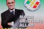 Elezioni regionali, facce da manifesto
