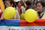 Corteo anti-razzismo per le vie di Palermo
