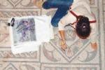 Piccioni a Villa del Casale, mosaici a rischio