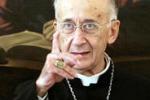 Il cardinale Camillo Ruini in visita ad Enna