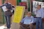 Stand isolati, protestano i venditori di Villa del Casale