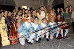 Figuranti accolgono Carlo V, corteo storico a Nicosia