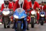 Babbo Natale in Polonia si muove in moto