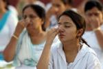 Lo yoga contro l'ipertensione: maxi raduno in India