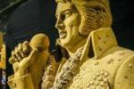 Belgio, Elvis Presley di sabbia al Festival di Blankenberge