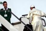 Il Papa in Brasile col suo bagaglio a mano