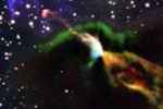 """Nuova stella, scatto in tempo reale del suo primo """"vagito"""""""