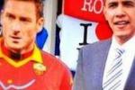 Obama incontra Totti a Roma, ironia dell'Ambasciata Usa su Twitter