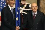 Obama incontra il Papa e Napolitano: tutte le immagini