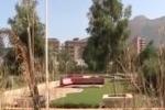 Palermo, impianto sportivo abbandonato a Bonagia