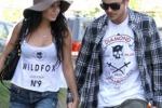 Vanessa e Zac, passeggiata romantica