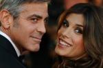 Clooney ai genitori della Canalis: posso sposarla?