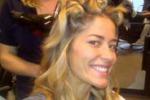 Elena Santarelli sfida la Satta: eccola senza trucco su Twitter