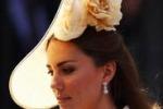 Kate sul podio: e' lei la migliore indossatrice di cappelli