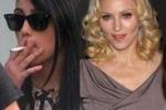 Lourdes Maria fuma: Madonna furiosa con la figlia