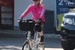 Madonna, giro in bici a Firenze e poi il concerto