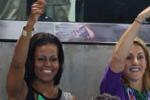 Olimpiadi, sugli spalti arriva anche Michelle Obama