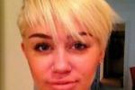 Il nuovo look di Miley Cyrus su twitter