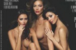 Lukasik, Nile e Ariafina: trio hot su Playboy
