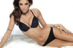 Elisabetta Canalis, una testimonial in lingerie