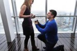 Chiede la mano della sua ragazza sulla vetta dello Shard