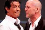 """Sylvester Stallone contro Bruce Willis: """"E' avido e pigro"""""""