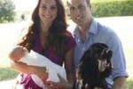"""La prima foto ufficiale della """"nuova famiglia reale"""""""