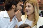 Barbara Berlusconi, tifo sugli spalti col nuovo amore Lorenzo