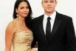 """Matt Damon e Luciana Barroso: """"Mia moglie è la mia felicita'"""""""