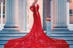 Calendario Campari, Uma Thurman in rosso per la copertina
