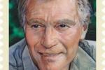Negli Usa Charlton Heston diventa un francobollo
