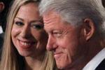 Chelsea Clinton è incinta, Bill e Hillary presto nonni