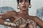 Rihanna, in posa senza veli per Vogue: le immagini
