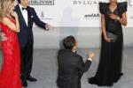 Mendez, proposta di matrimonio sul red carpet per l'ex Miss Italia