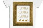 """Capra"", la famosa sfuriata di Sgarbi diventa una t-shirt"