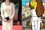 Kate diventa una star dei Simpson