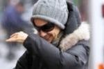 Sarah Jessica Parker sotto la pioggia di NY