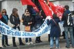 Mensa scolastica, protesta dei lavoratori a Messina